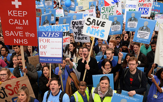 junior doctor protest